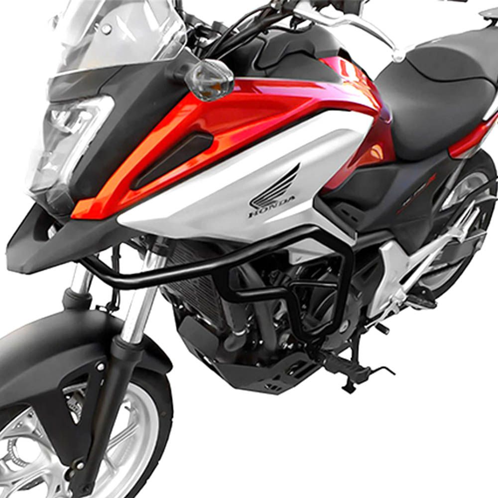 Protetor Motor Carenagem Nc 700 Nc 750 Scam Aço Carbono C/pedaleira SPTOP061