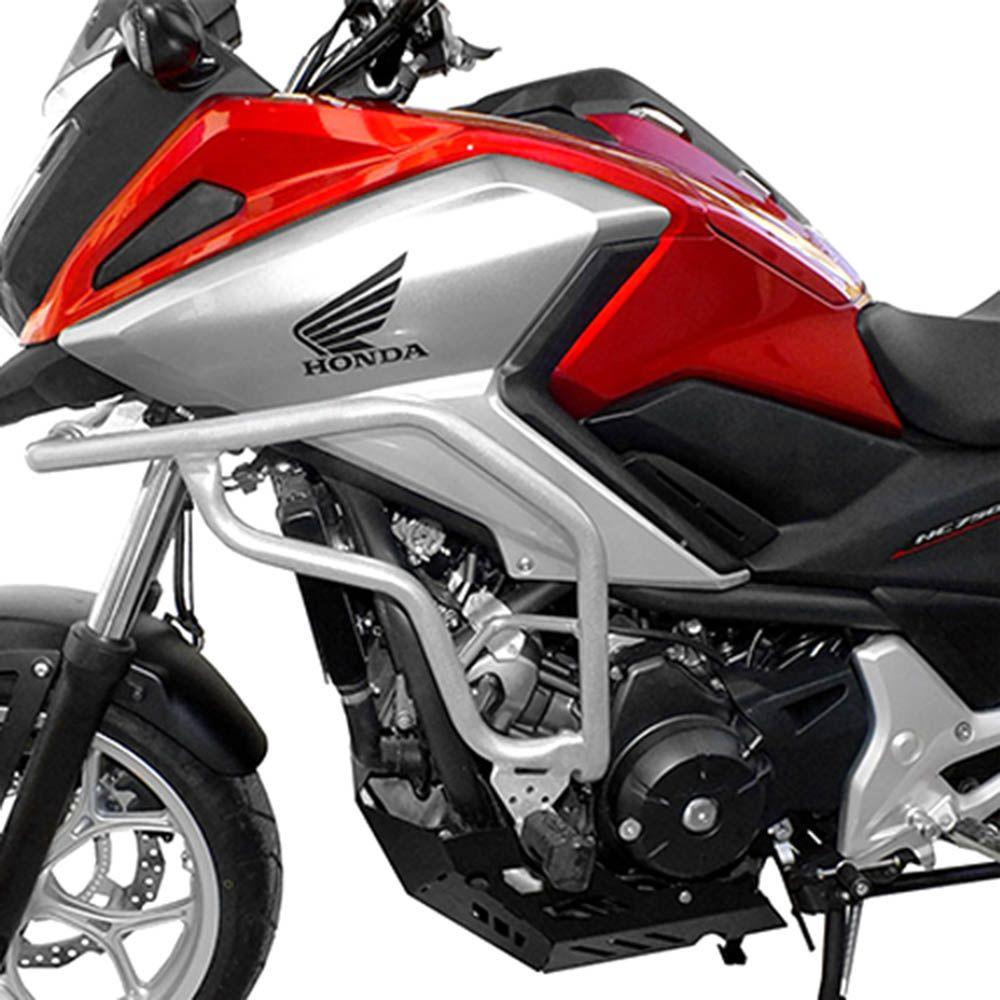 Protetor Motor Corenagem Nc 700 Nc 750 Scam Aço Carbono C/pedaleira