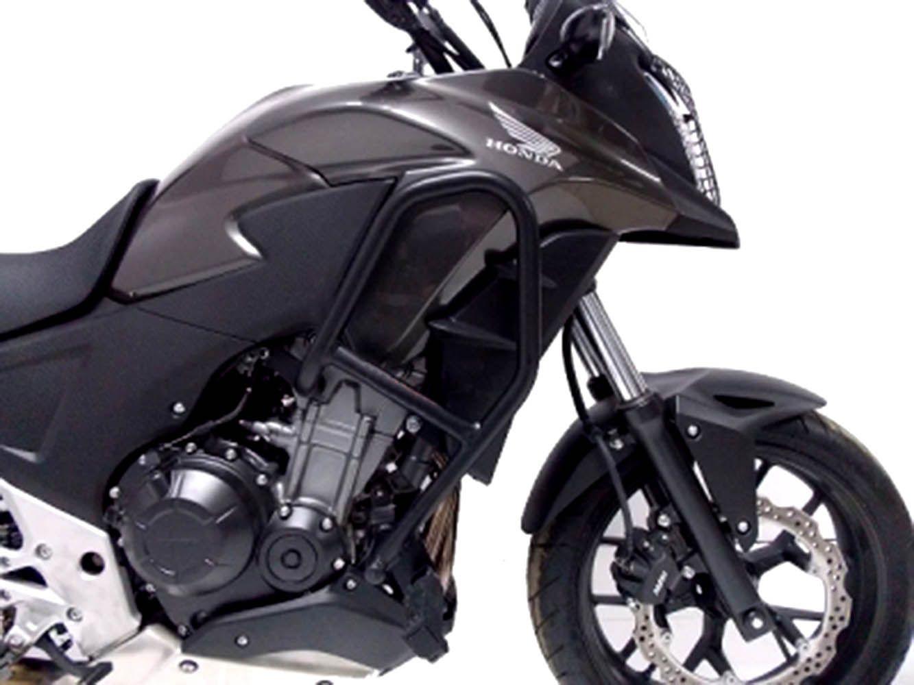 Protetor Motor Mata Cachorro Cb 500 X Preto Fosco Chapam 870