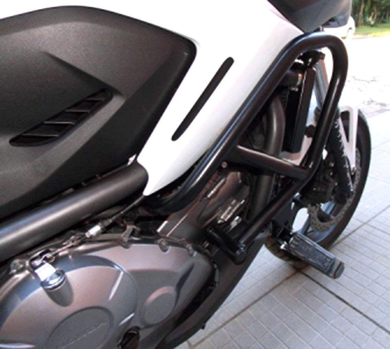Protetor Motor Perna Carenagem Nc 700 X C/ Pedaleira Chapam