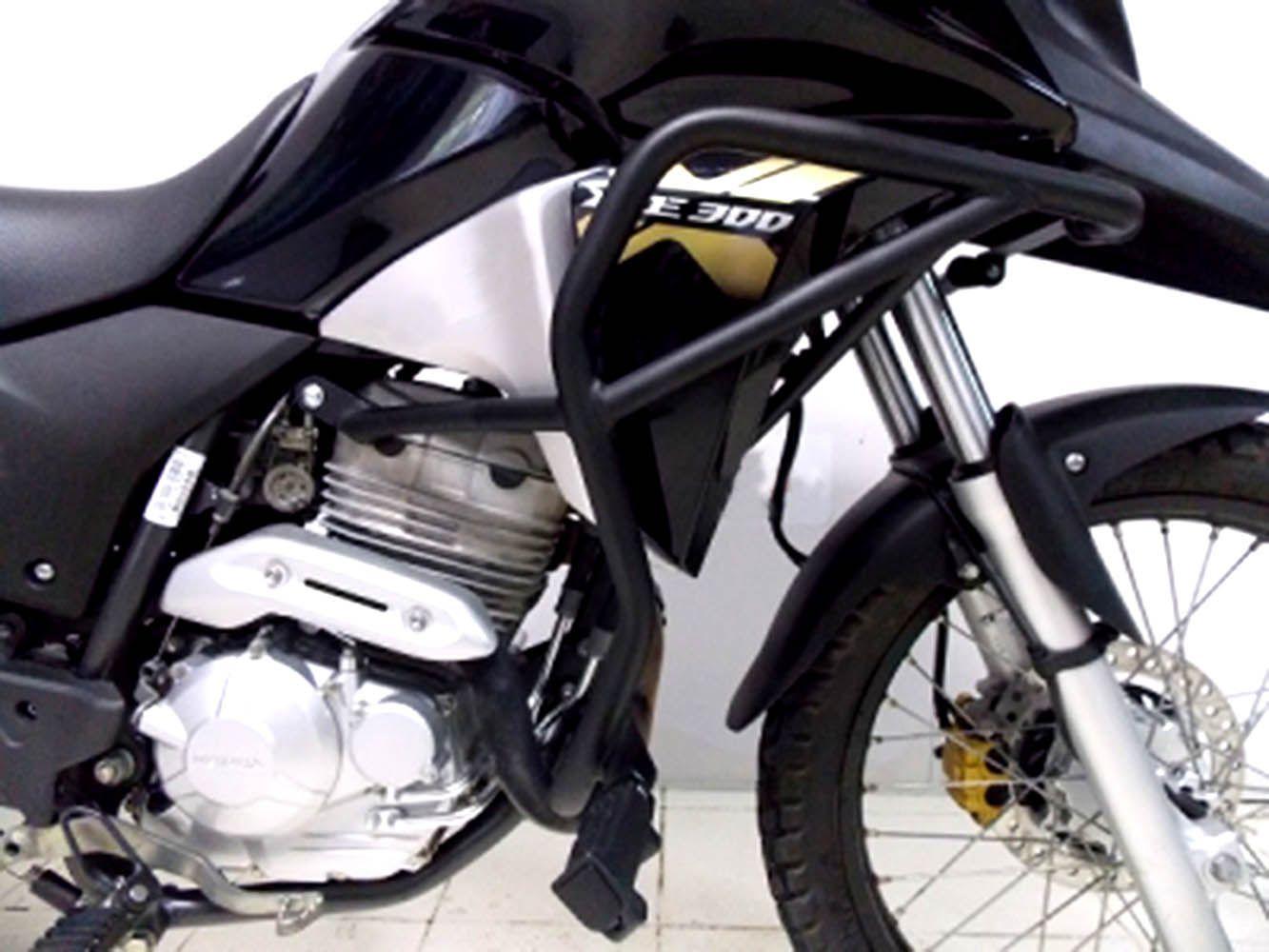 Protetor Motor Perna Carenagem Xre 300 Até 2019 Todas C/peda