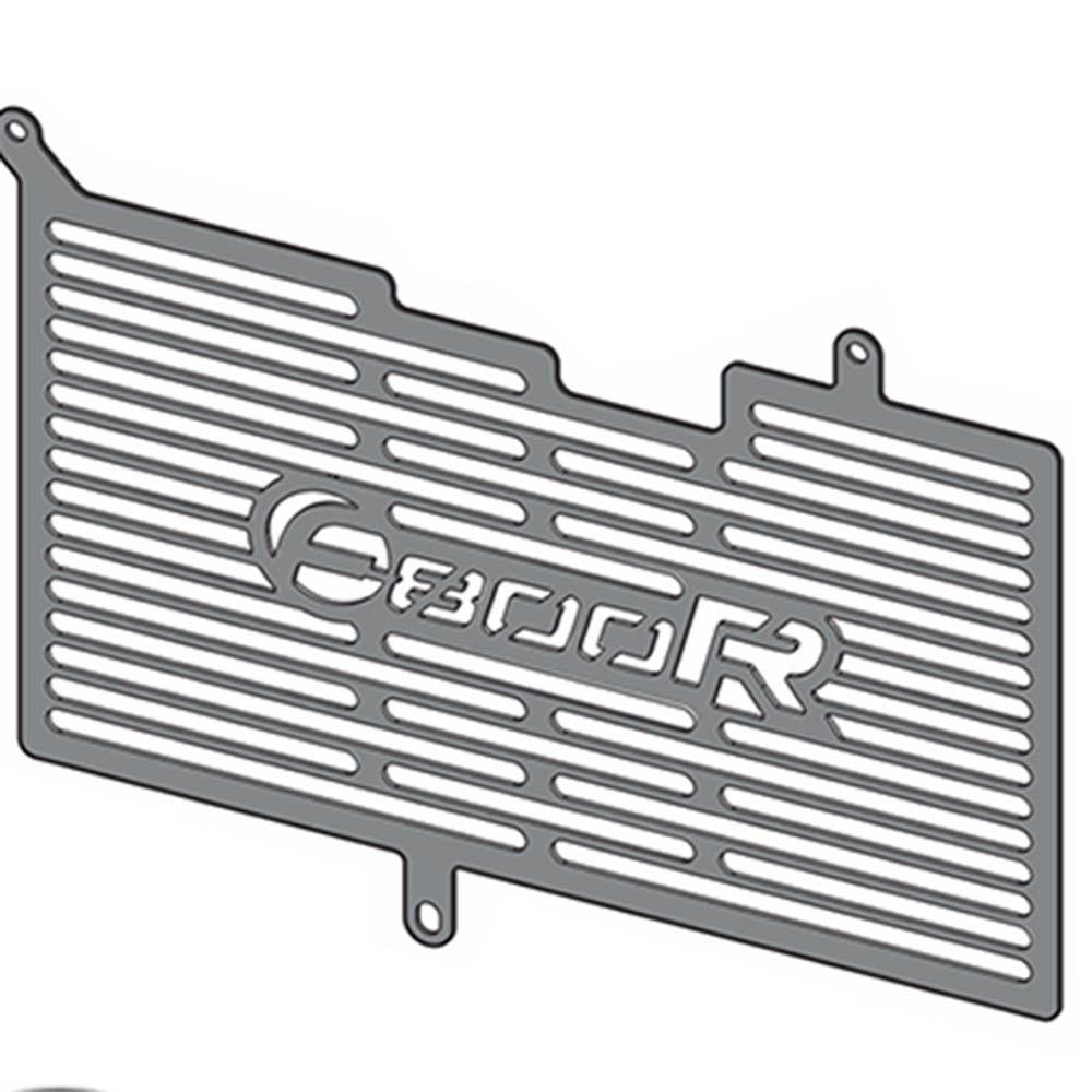 Protetor Radiador F 800 R Bmw Scam Preto SPTO243