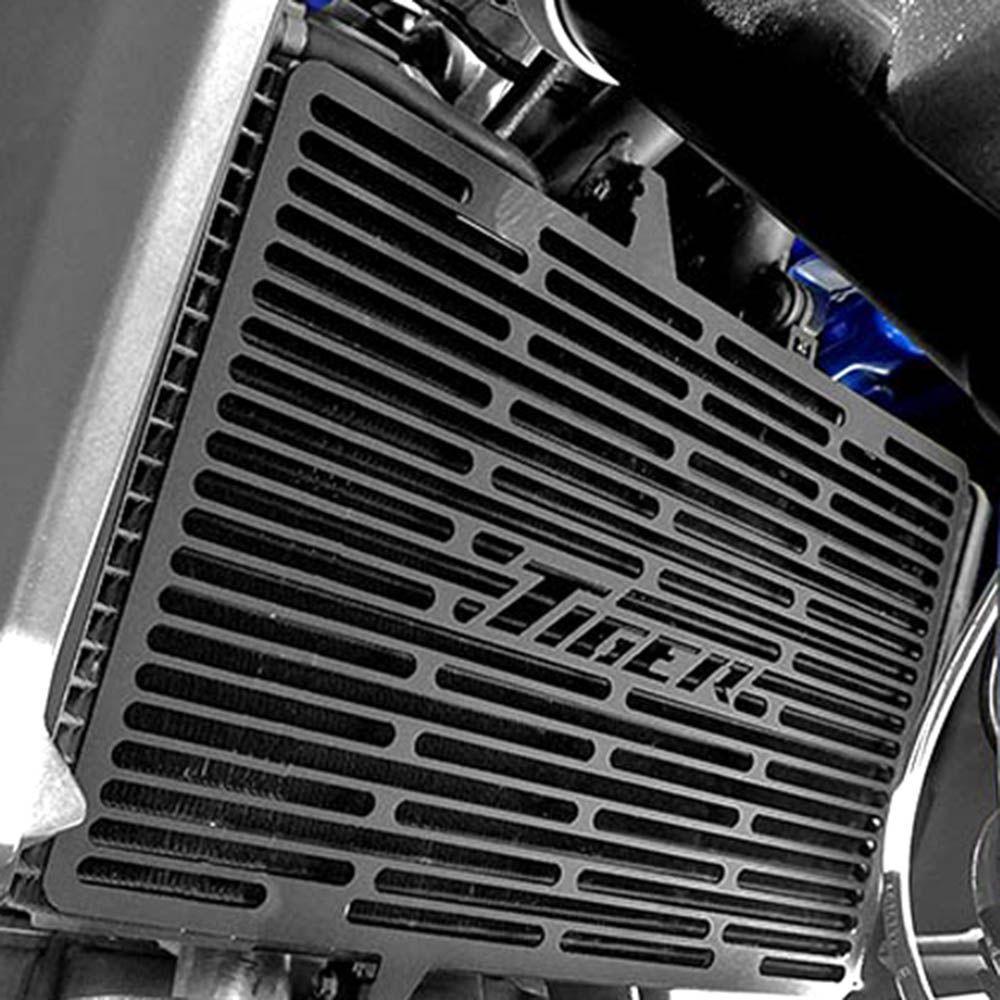 Protetor Radiador Tiger 800 2015 / Aço Carbono Preto Scam