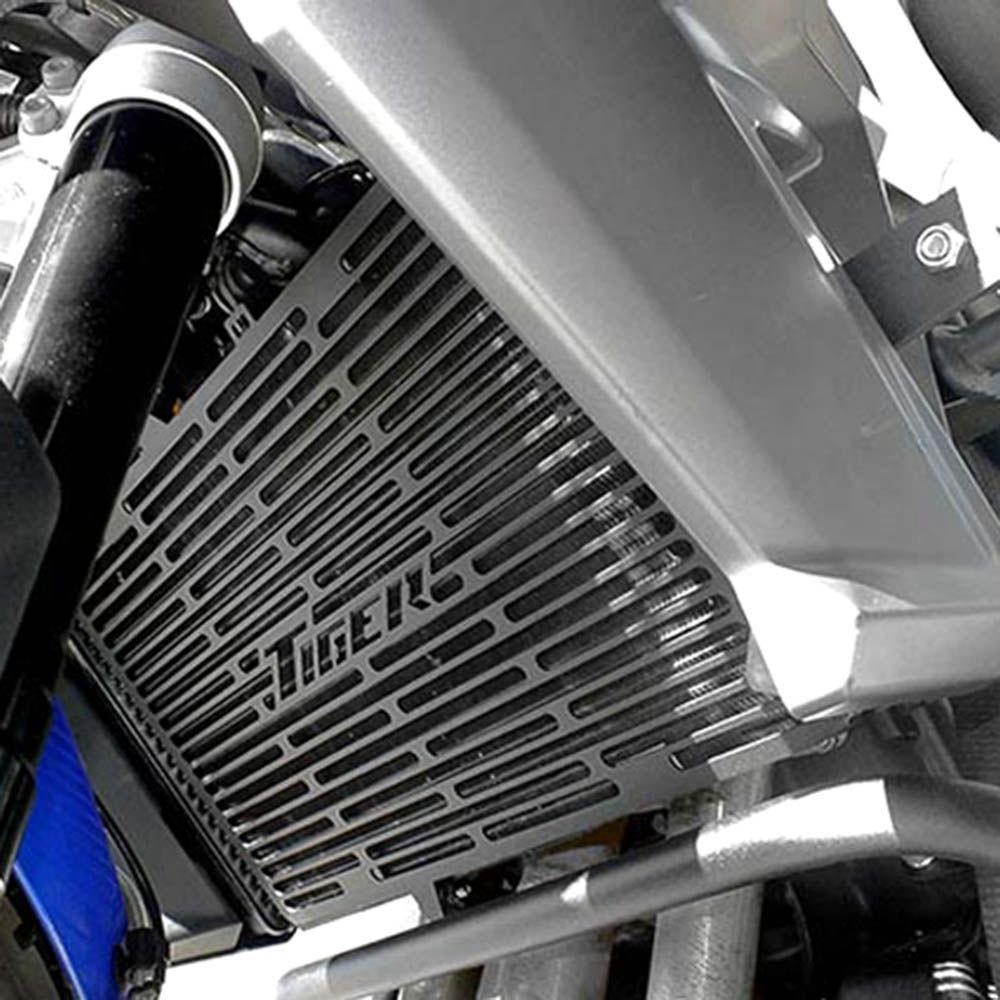 Protetor Radiador Tiger 800 Ate 2014 Aço Carbono Preto Scam