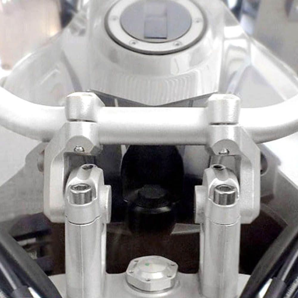 Riser Movel Super Tenere Adaptador Guidao Preto Scam Spto216