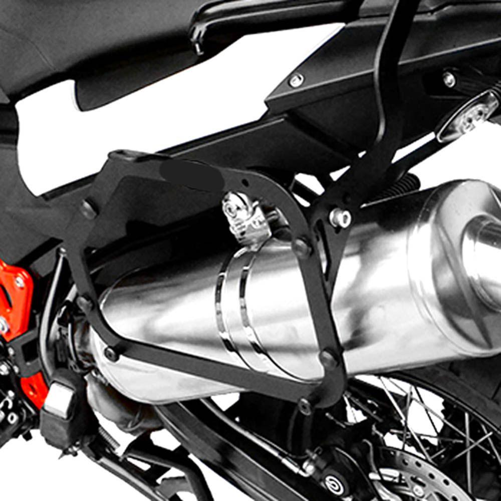 Suporte Bau mala Lateral F 800 Gs Scam Monokey SPTO 043