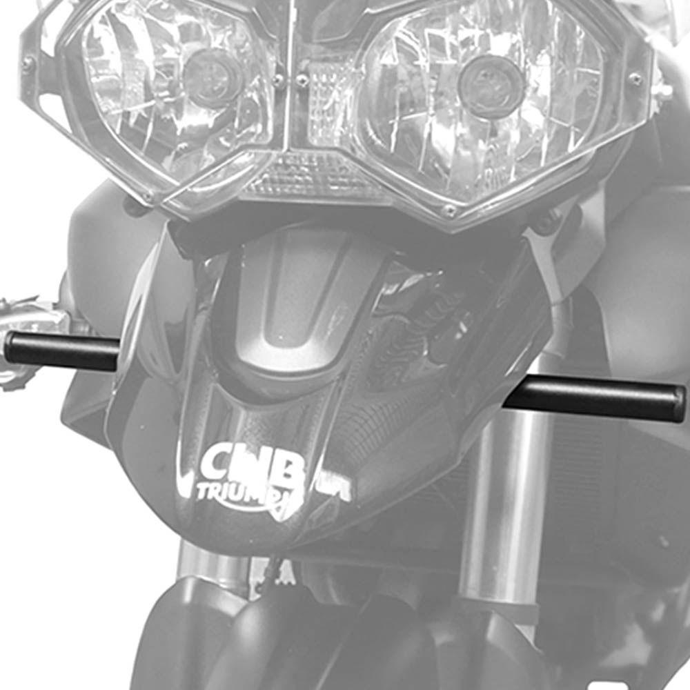Suporte Farol Milha Tiger 800 Aço Carbono Preto Scam