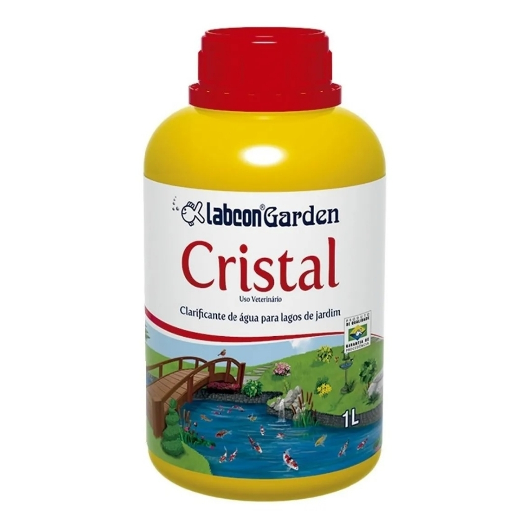 Alcon Labcon Garden Cristal 1l -Clarifica Água dos Tanques