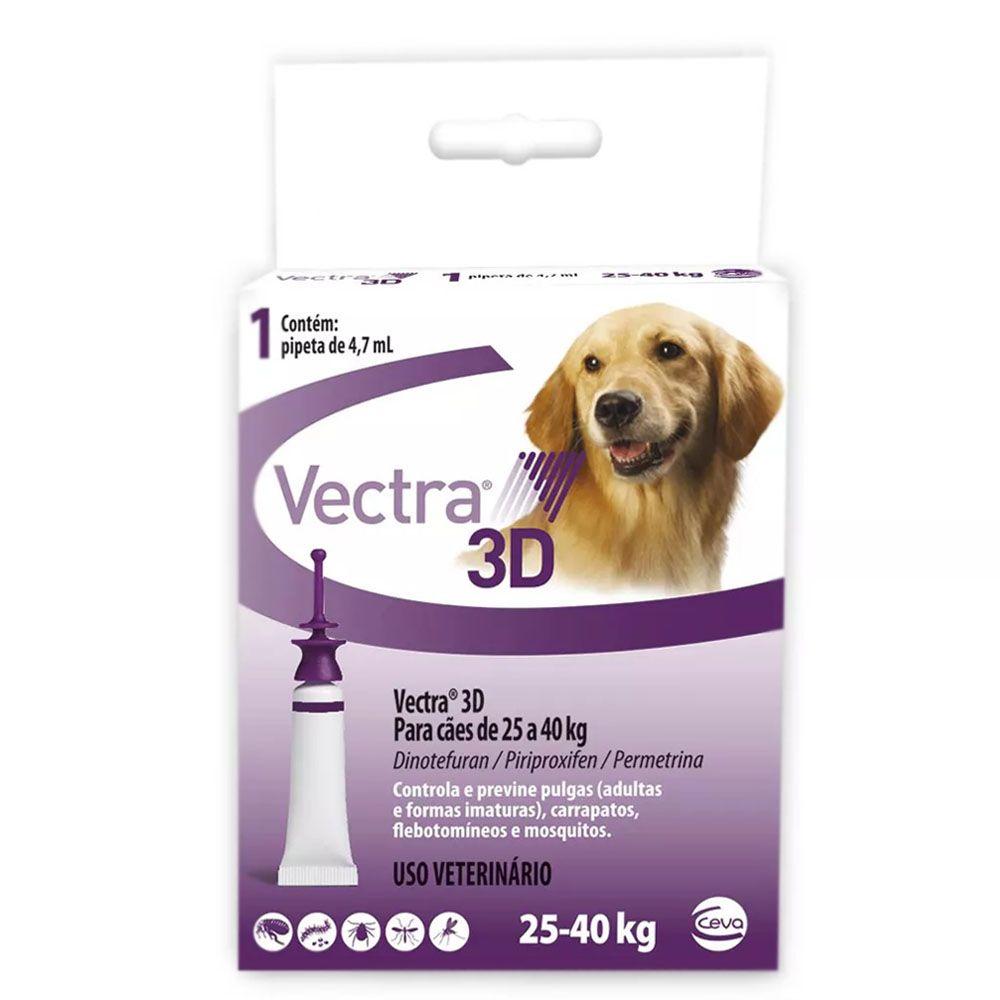 ANTI PULGAS CEVA VECTRA 3D PARA CAES 25-40KG