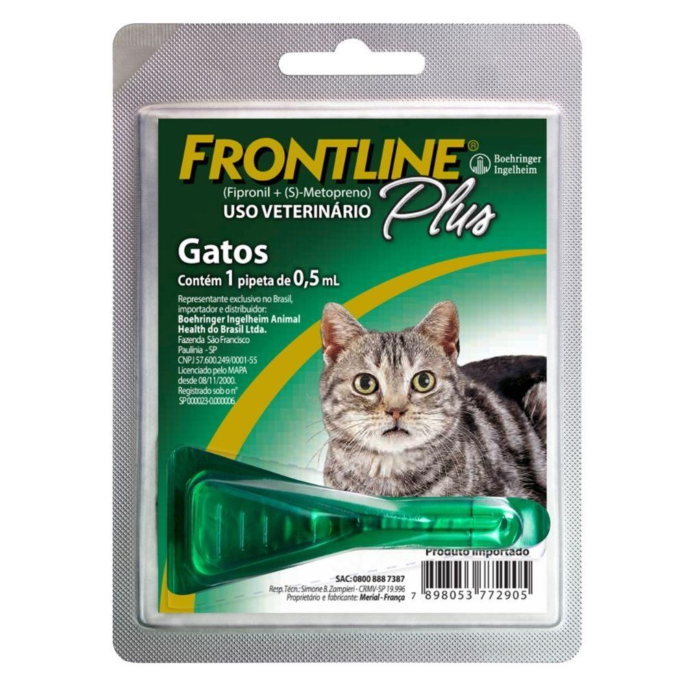 Antipulgas Frontline Plus Boehringer para Gatos