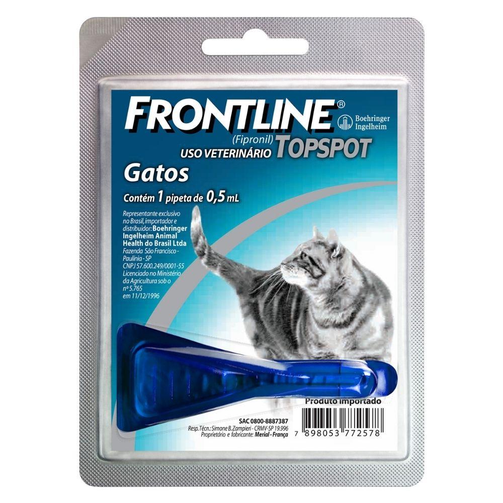 Antipulgas Frontline TopSpot Boehringer para Gatos