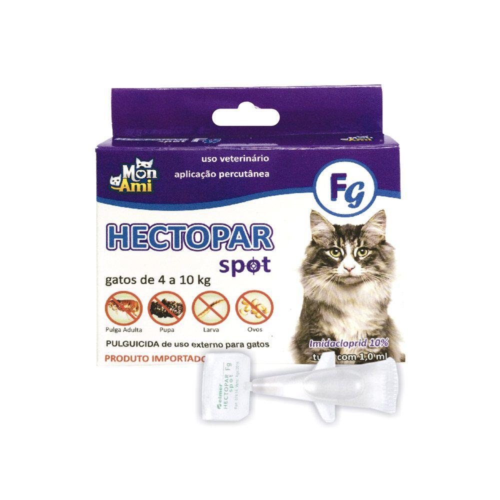 Antipulgas Hectopar FG para Gatos de 04 a 10 kg