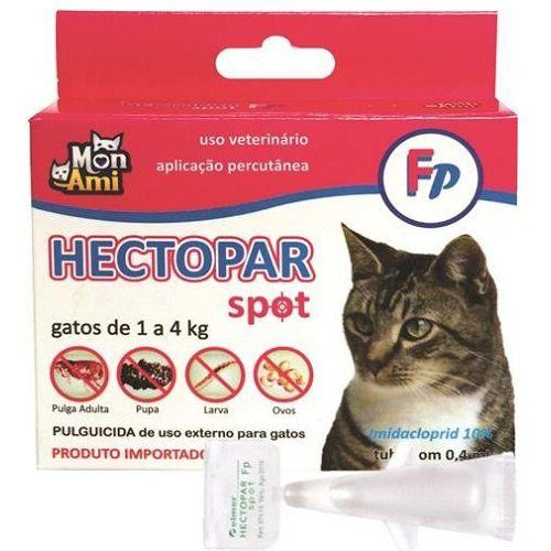 Antipulgas Hectopar FP para Gatos de 01 a 04 kg
