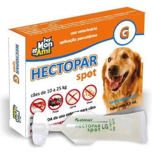 Antipulgas Hectopar G para Cães de 10 a 25 kg.