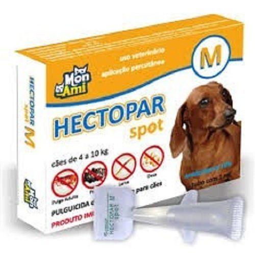 Antipulgas Hectopar M para Cães de 04 a 10 kg.