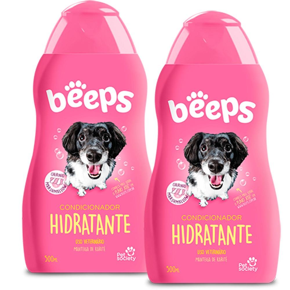 Beeps Condicionador Hidratante Pet Society 500ml - 2 Unid.