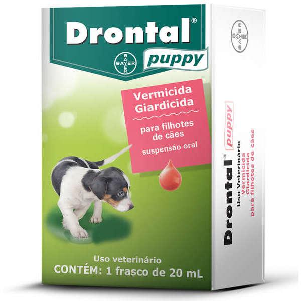 Drontal Puppy 20ml Filhotes E Cães Miniatura