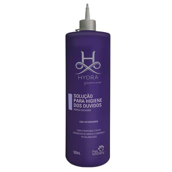 Hydra Groomers Solução Para Higiene Dos Ouvidos 500ml