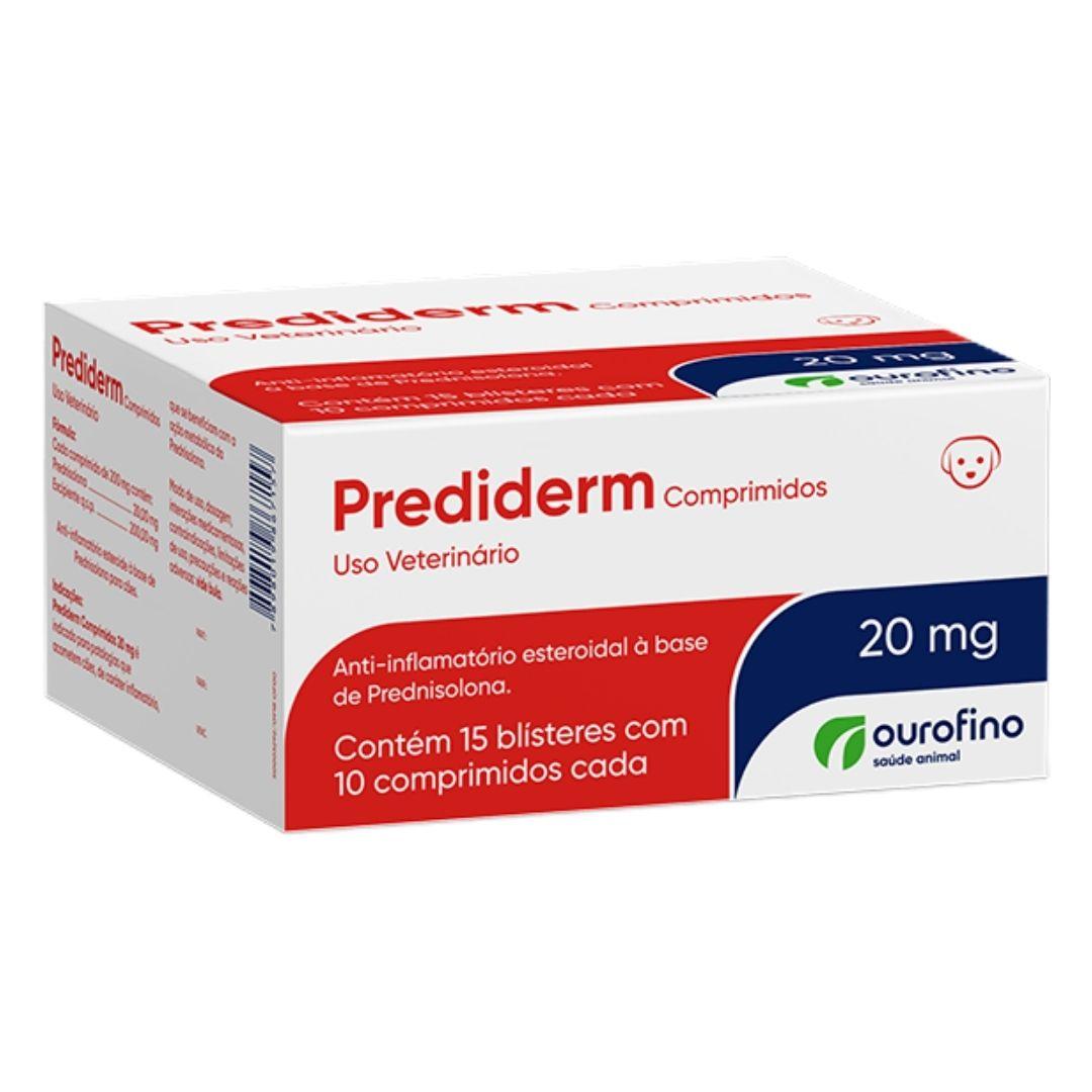 Prediderm Ourofino 20mg - 150 Comprimidos