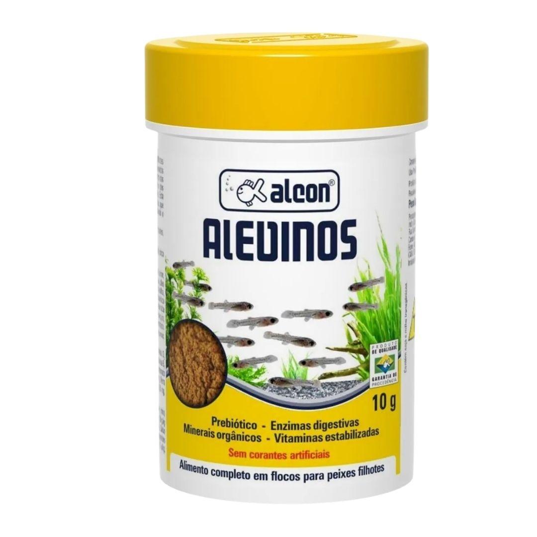 RAÇÃO ALCON ALEVINOS MICROFLOCOS 10g