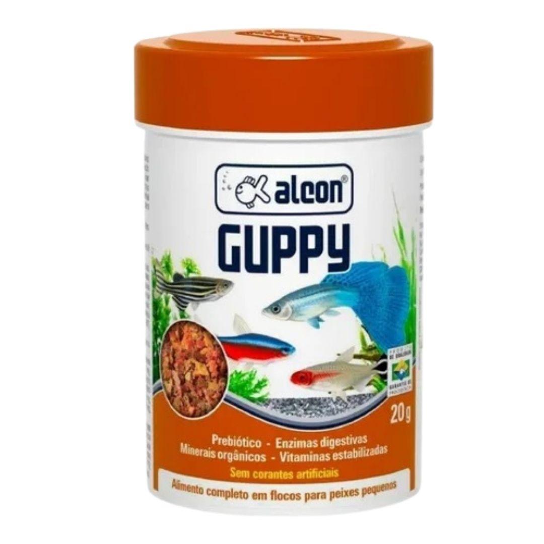 RAÇÃO ALCON GUPPY 20g