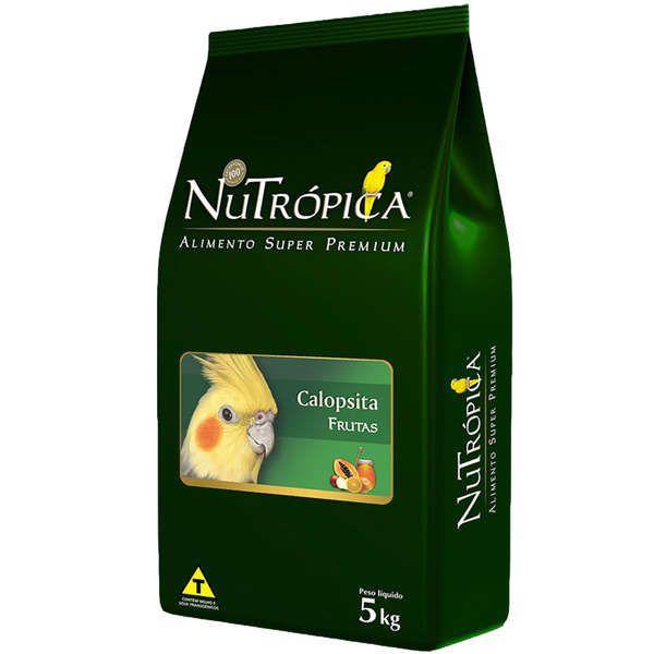 RAÇÃO NUTRÓPICA COM FRUTAS PARA CALOPSITA 5Kg