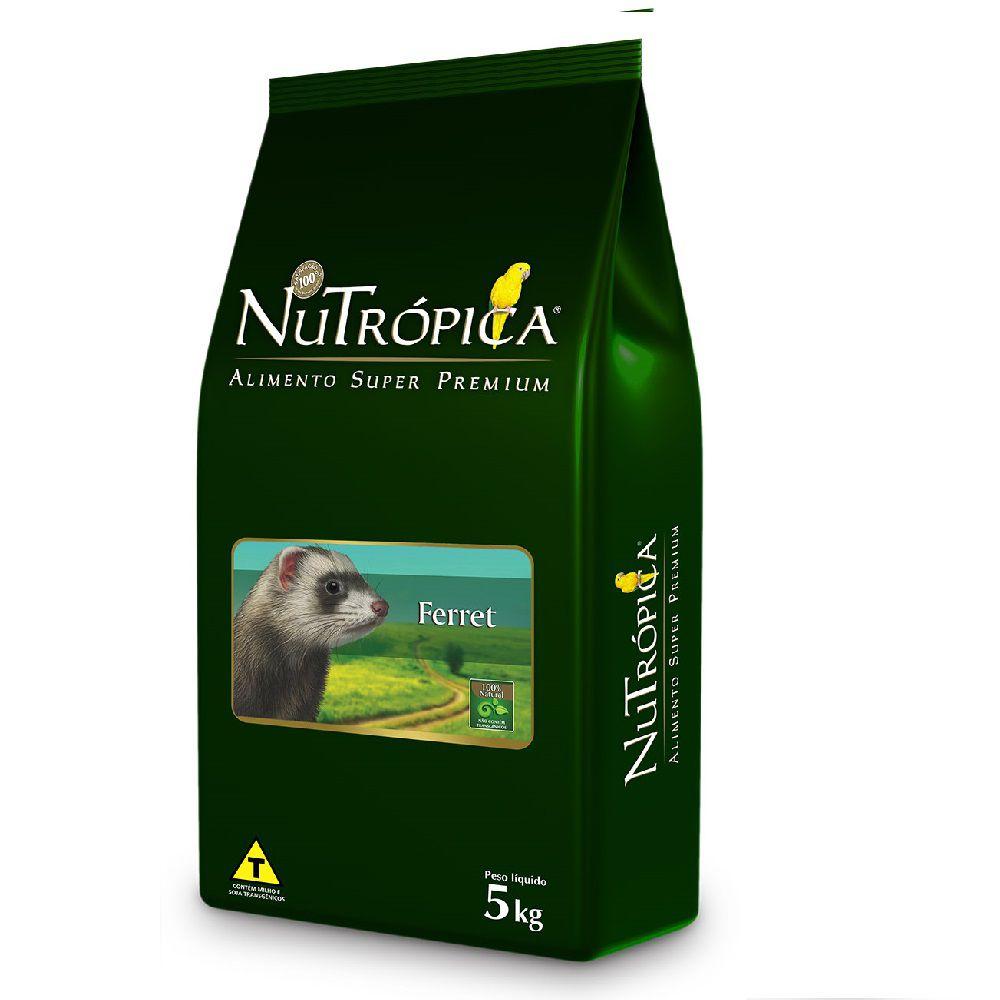 RAÇÃO NUTRÓPICA FERRET NATURAL 5KG