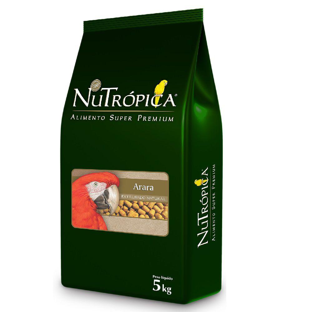 RAÇÃO NUTRÓPICA NATURAL PARA ARARAS 5KG