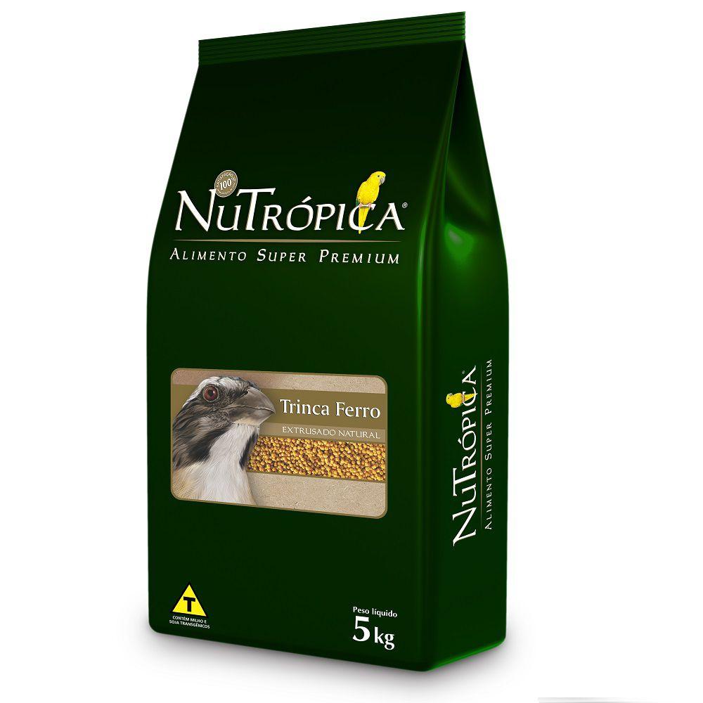 RAÇÃO NUTRÓPICA NATURAL PARA TRINCA-FERRO 5KG
