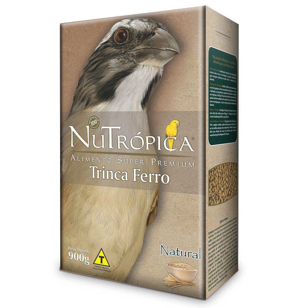 RAÇÃO NUTRÓPICA NATURAL PARA TRINCA-FERRO 900g
