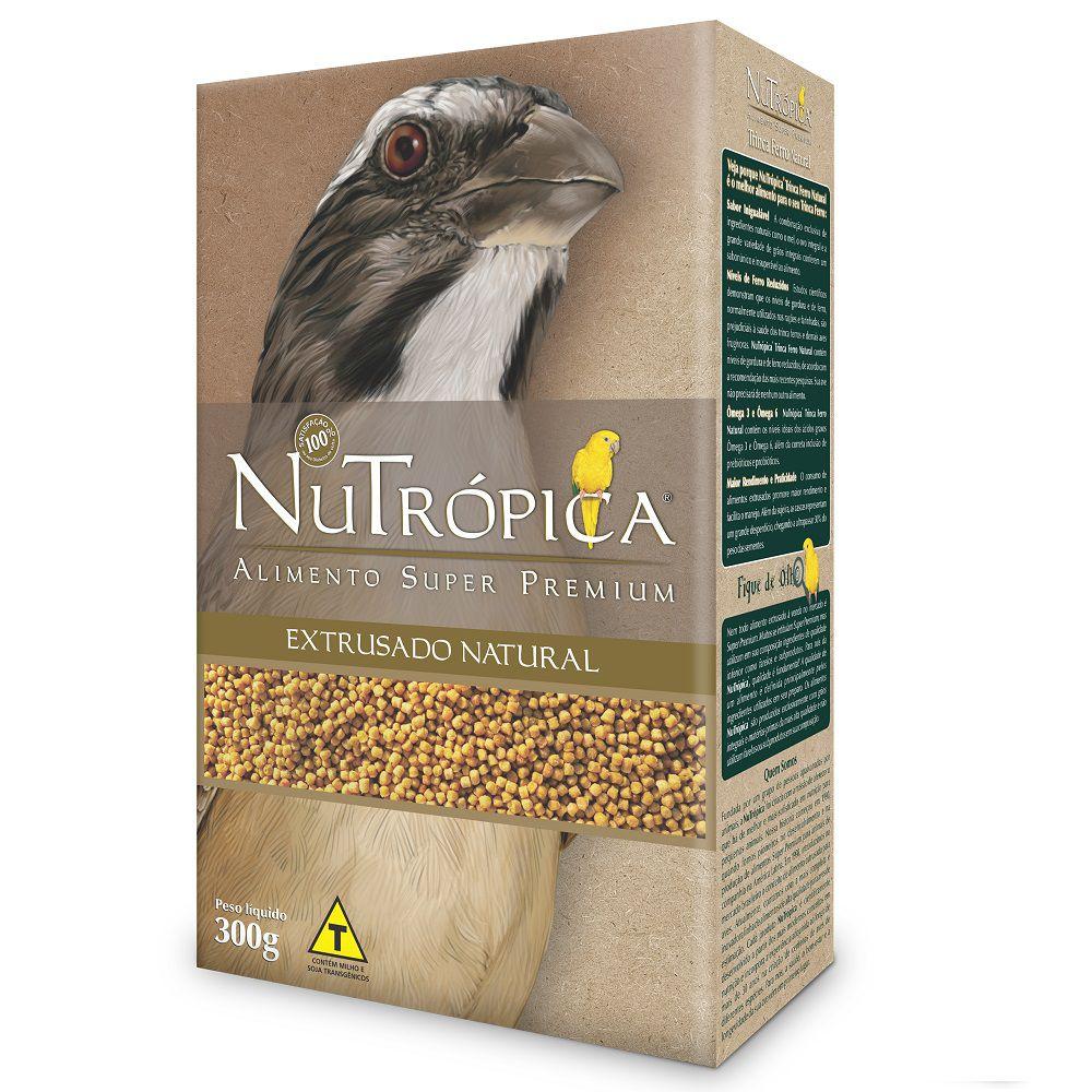 RAÇÃO NUTRÓPICA NATURAL PARA TRINCA-FERROS 300G