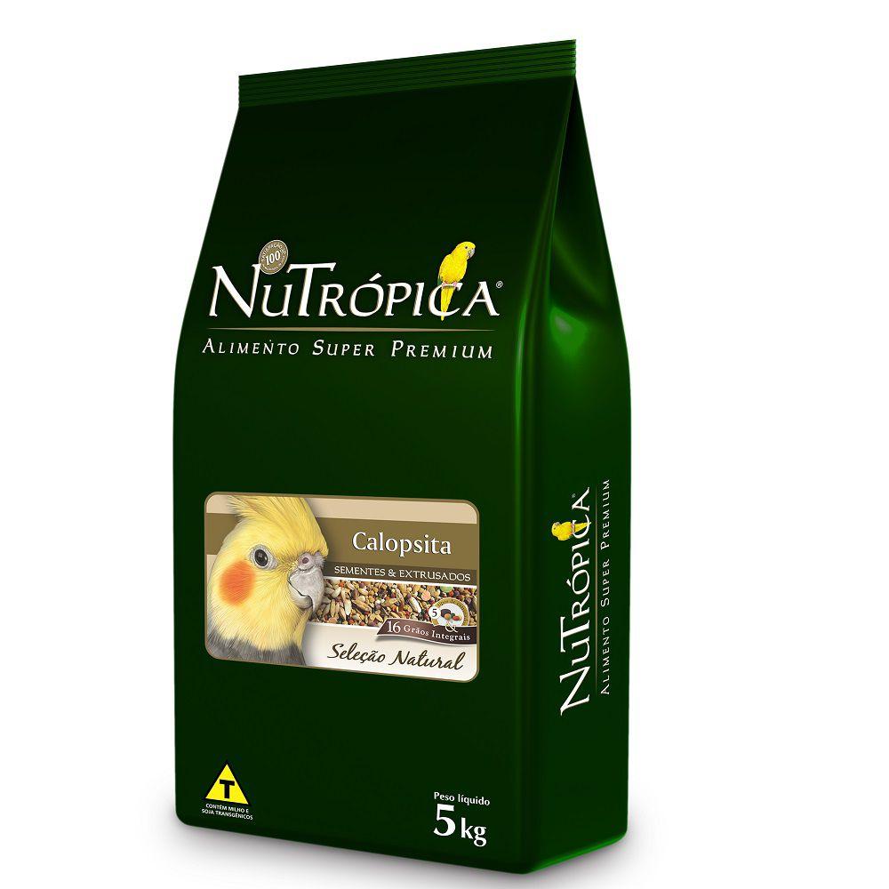 RAÇÃO NUTRÓPICA SELEÇÃO NATURAL CALOPSITA 5kg