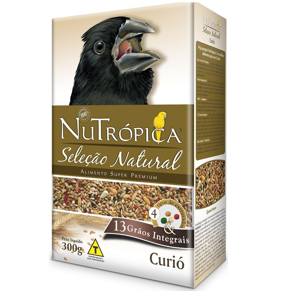 RAÇÃO NUTRÓPICA SELEÇÃO NATURAL CURIÓ 300G