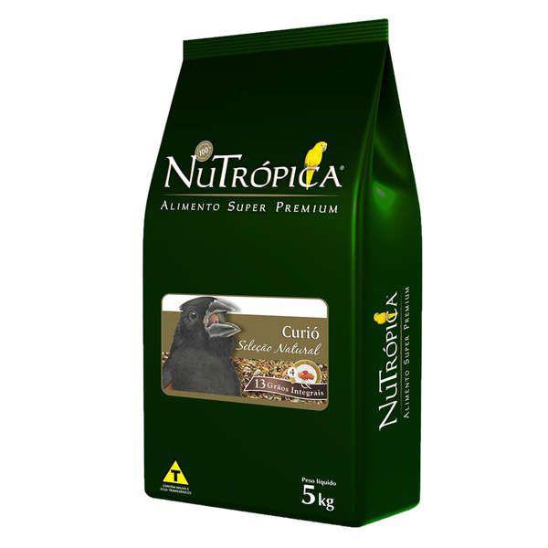 RAÇÃO NUTRÓPICA SELEÇÃO NATURAL CURIÓ 5Kg