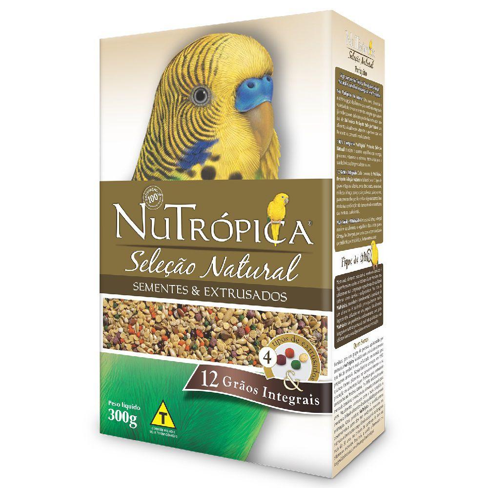 RAÇÃO NUTRÓPICA SELEÇÃO NATURAL PERIQUITOS 300G