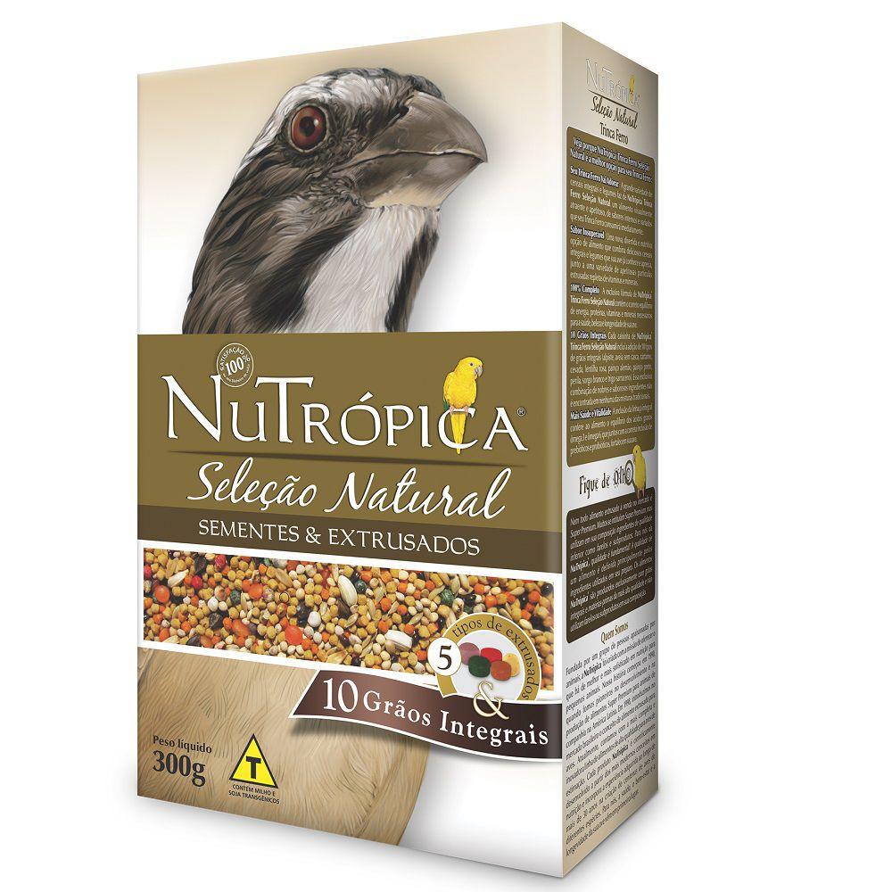 RAÇÃO NUTRÓPICA SELEÇÃO NATURAL TRINCA FERRO 300G