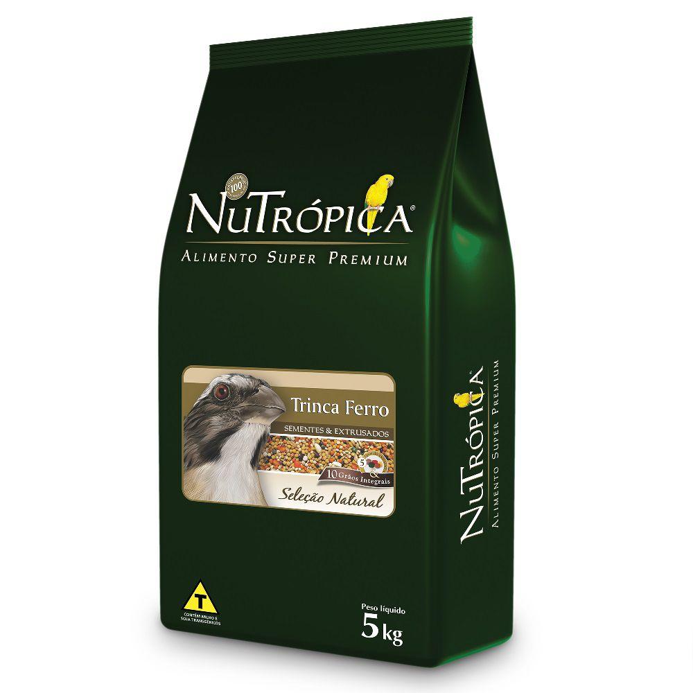 RAÇÃO NUTRÓPICA SELEÇÃO NATURAL TRINCA-FERRO 5KG