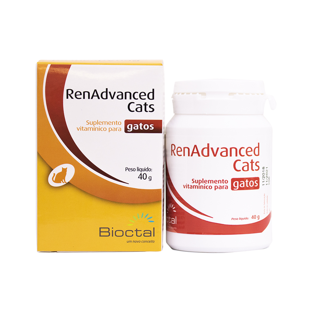 Renadvanced Cats 40g Bioctal - Para Gatos Com Doença Renal