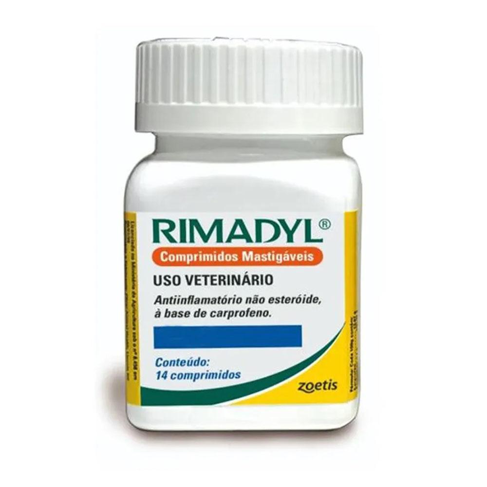 Rimadyl  25mg 14 Comprimidos Zoetis - Para Cães