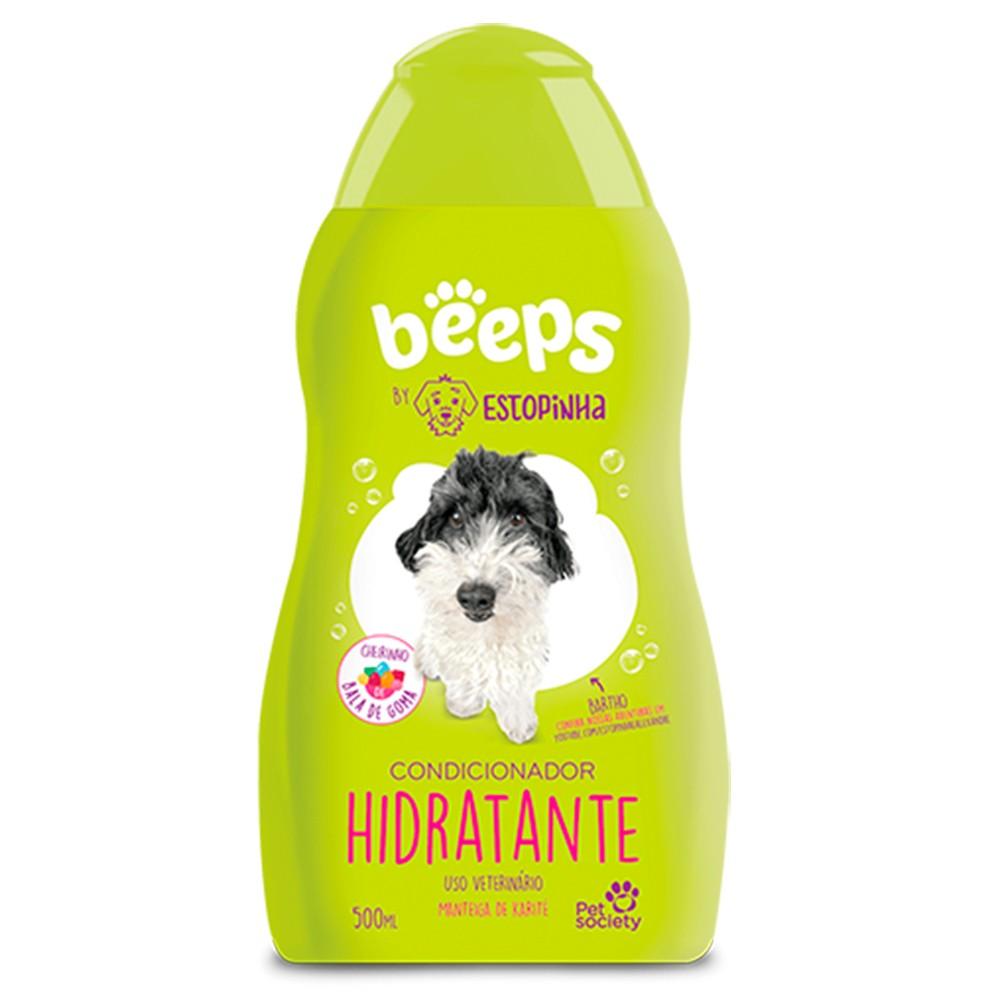 Shampoo Beeps By Estopinha Hidratante Society 500ml Cães
