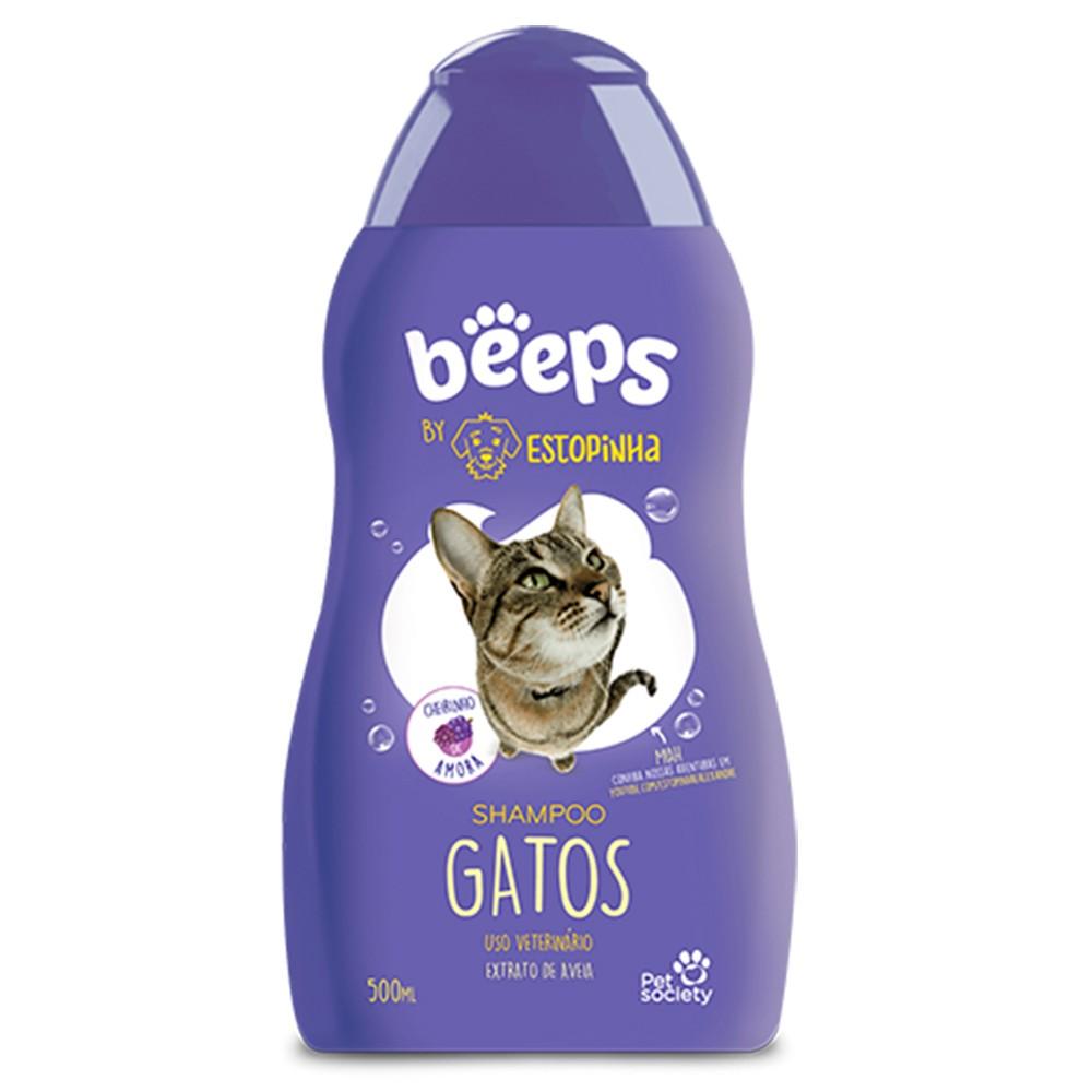 Shampoo Beeps By Estopinha para Gatos 500ml