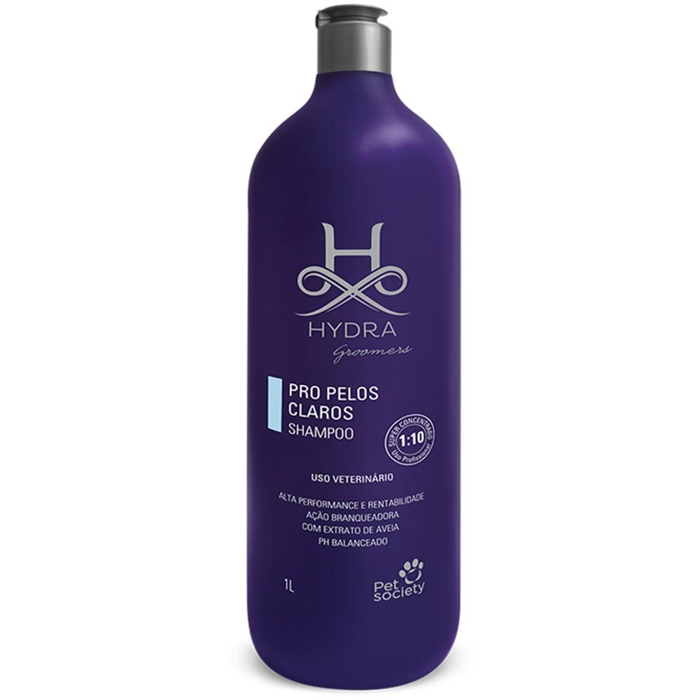 Shampoo Hydra Pet Society Groomer Pelos Claros PRO 1l - 1:10
