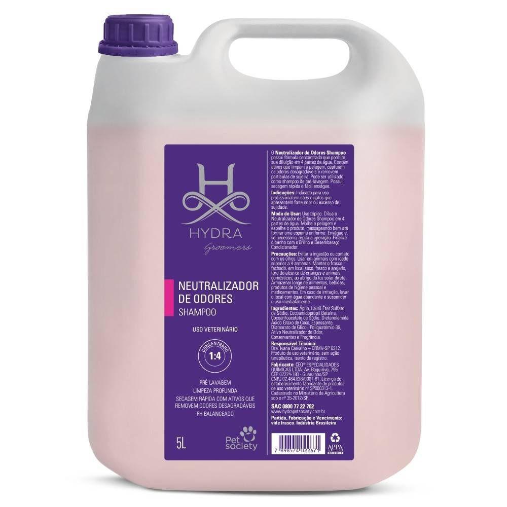 Shampoo Pet Society Hydra Neutralizador De Odores - 5l