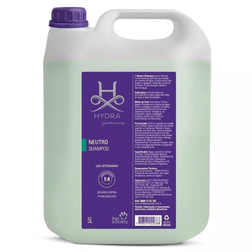 Shampoo Pet Society Hydra Neutro 5l