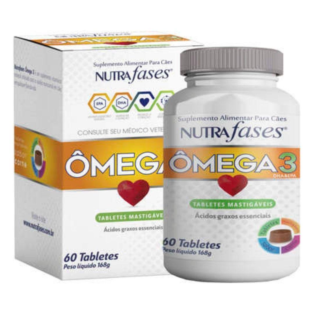 Suplemento Alimentar Nutrafases Ômega 3 60 Tabletes Mastigáveis