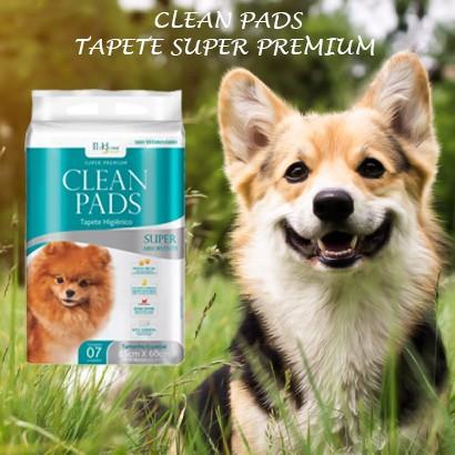 Tapete Higiênico Clean Pads 1 Pacote C/ 7 Unidades
