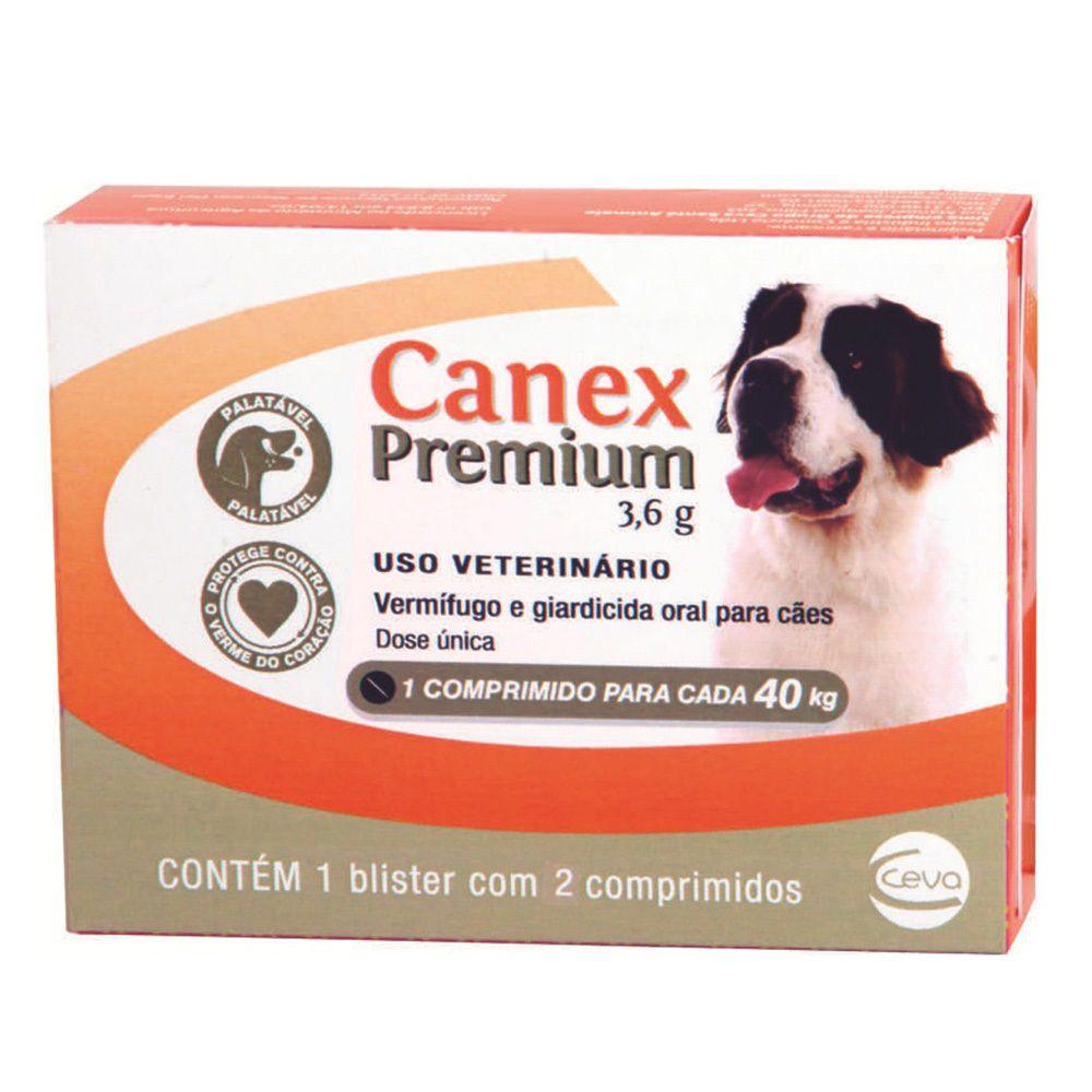 Vermífugo Ceva Canex Premium  3,6 G (Para 40 Kg)