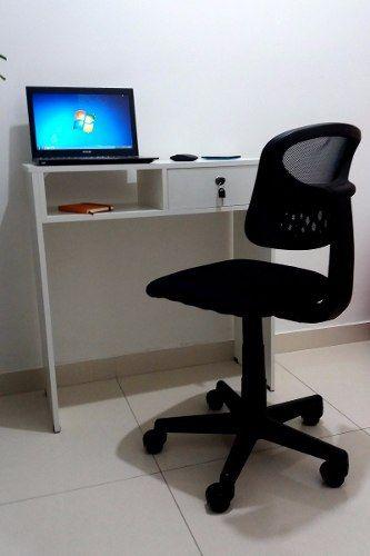 Mesa Escrivaninha para Notebook Com Gaveta E Fechadura com chave  - Virtude Móveis