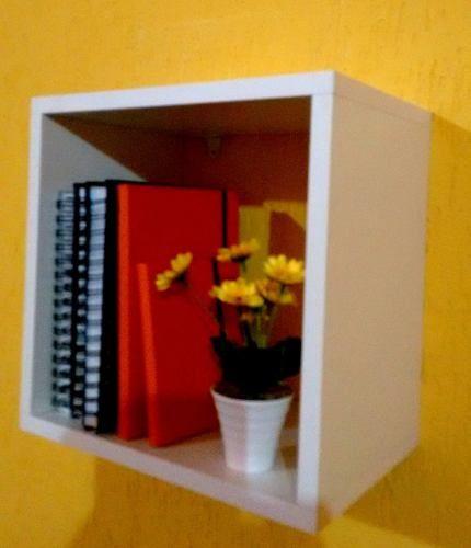 Nicho 30x30x15 Cm-100%mdf 15mm Branco-decorativo Quarto Bebe  - Virtude Móveis