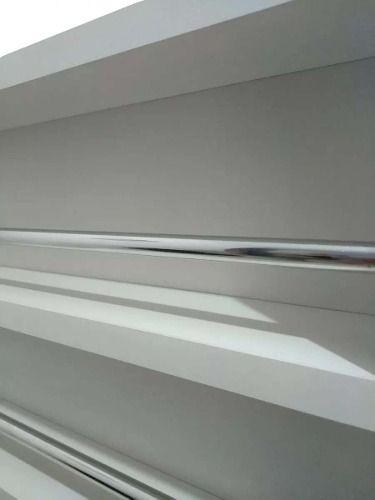 Expositor De Esmaltes C/barra De Alumínio P/ Até 120esmaltes 60X60X6  - Virtude Móveis